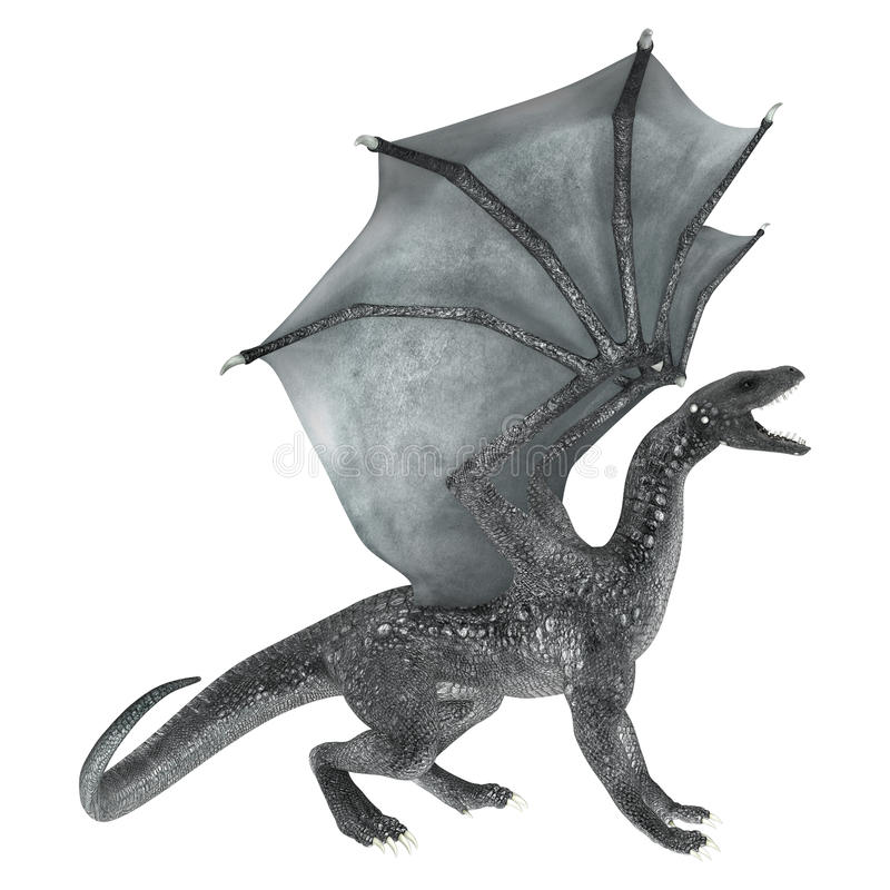 Dragon d'imagination illustration libre de droits