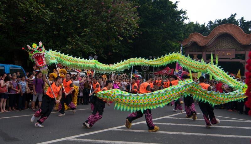 Dragon Dance stock fotografie