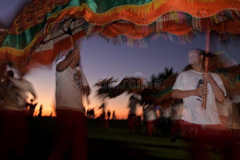 Dragon dancing in Broome Kimberley Western Australia royalty free stock photography