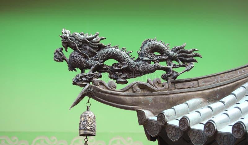 Dragon dans la ville de la Chine illustration libre de droits