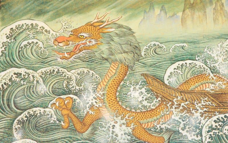 Dragon de bouddhisme photos libres de droits