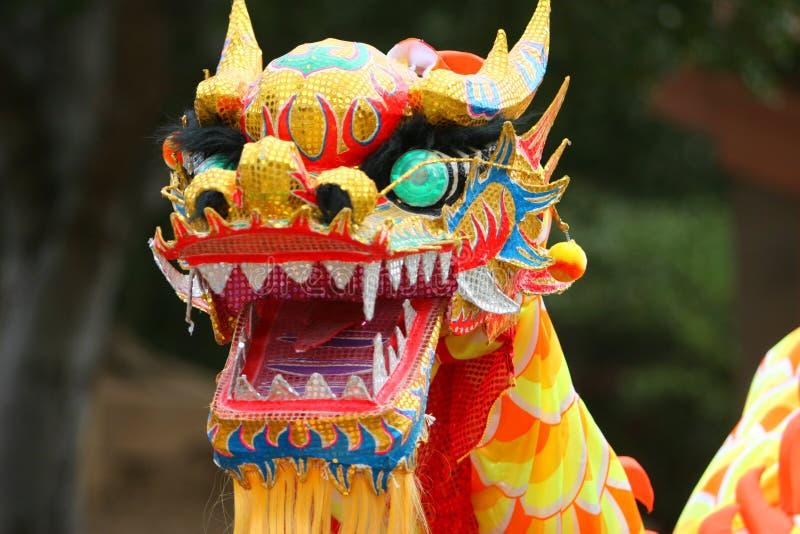 Dragon de danse photo libre de droits