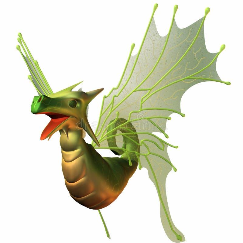 Dragon de Faerie d'imagination illustration libre de droits