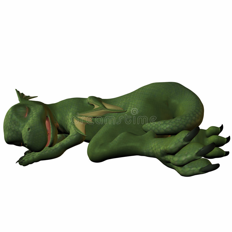 Dragon de Hatchling illustration libre de droits