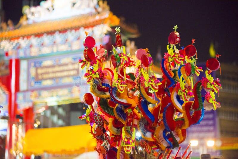 Dragon de papier chinois images stock