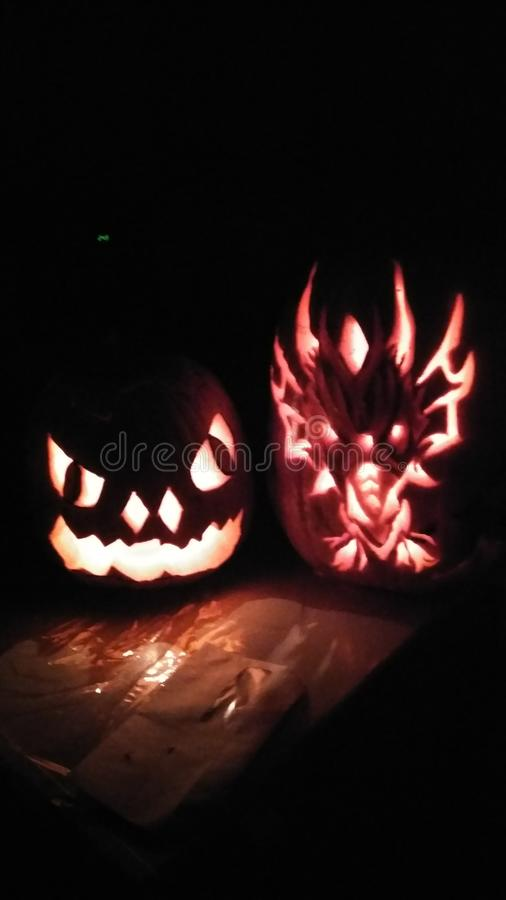 Dragon de potiron images stock