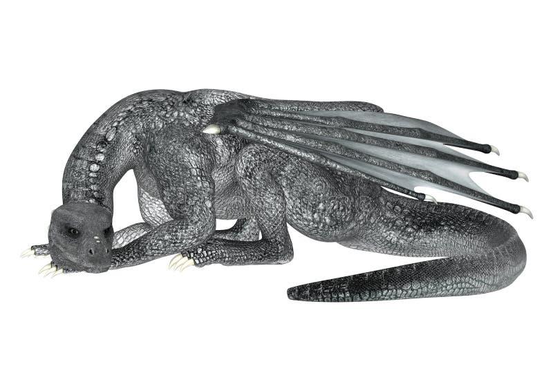 Dragon de repos illustration libre de droits