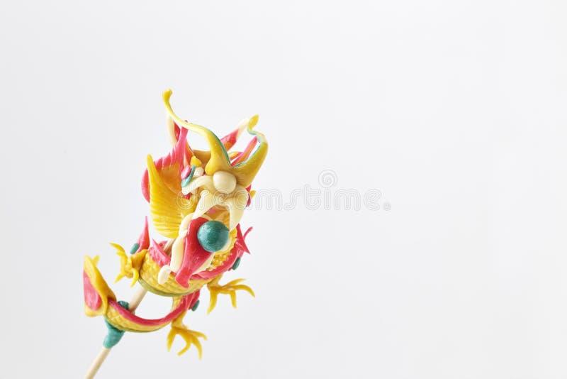 Dragon Decoration Chinese New Year royaltyfri fotografi