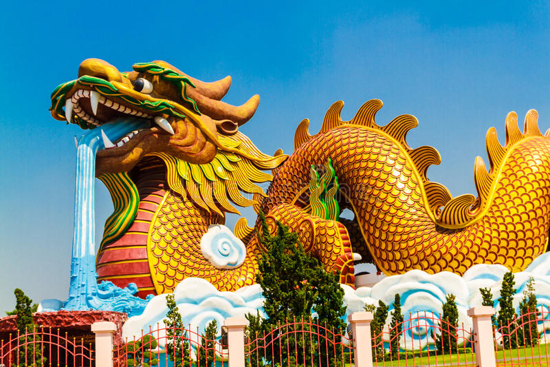 Dragon Descendants Museum photographie stock libre de droits