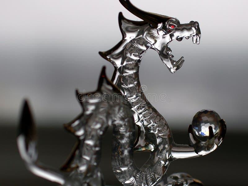 Dragon en verre photos libres de droits