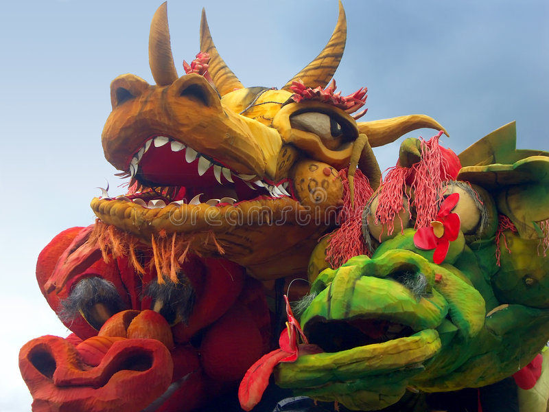 Download Dragon festival stock photo. Image of year, monsters, mascarade - 142174