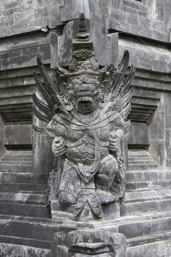 Dragon figure. Asian architecture detail stock image