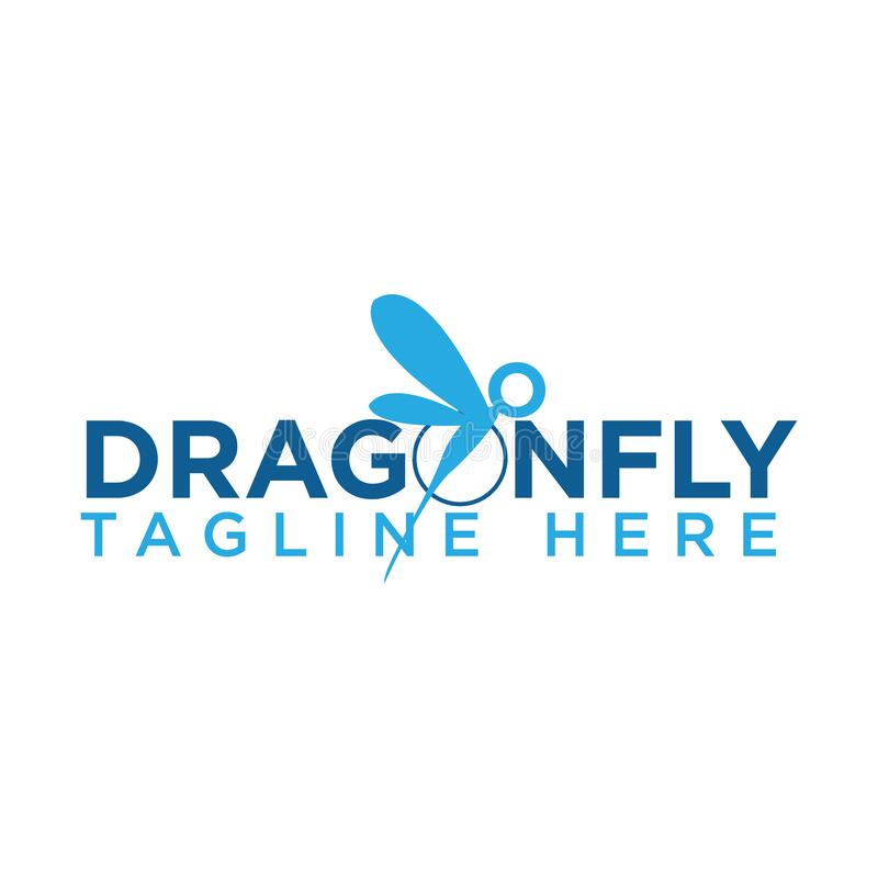Free Dragon Fly Icon With Typography Letter Dragon Fly Royalty Free Stock Photography - 177128657