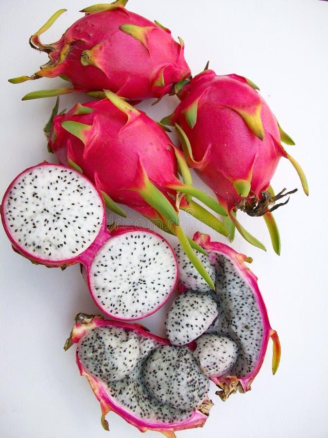 Dragon Fruits stockfotos