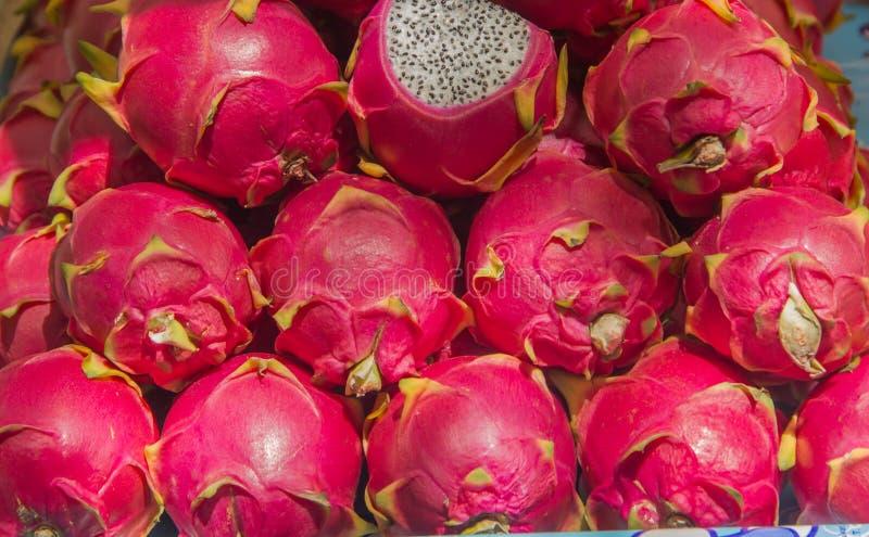 Dragon fruits stock image
