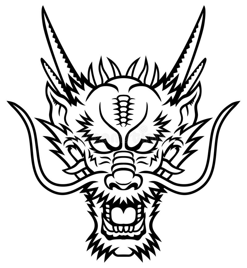 Free Dragon Head Stock Image - 31082381
