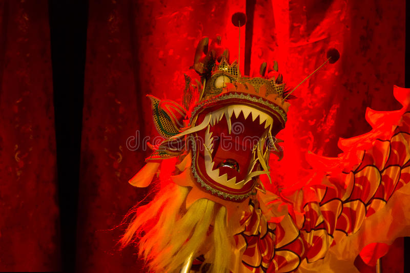 Dragon head. Chinese new year 2013. Dublin. stock photography