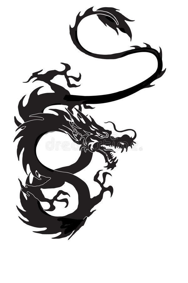 Dragon Isolated Stock Images