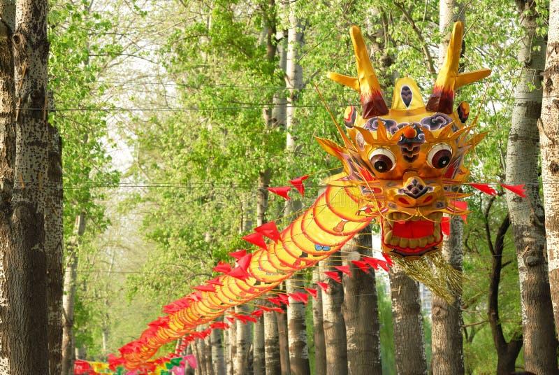 Dragon kite stock photos