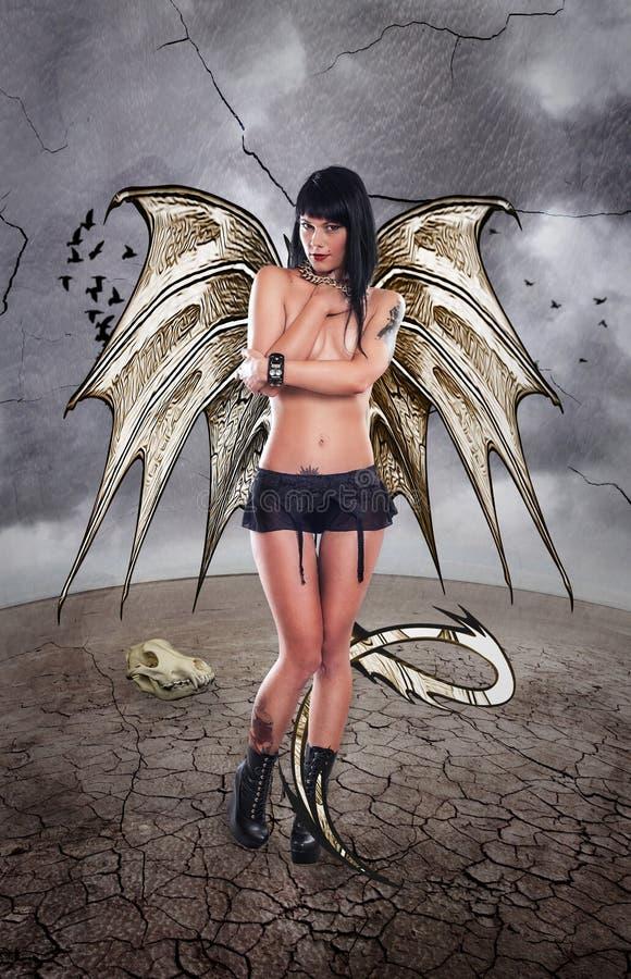 Dragon Lady immagini stock libere da diritti