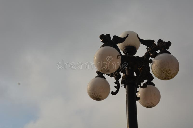 Download Dragon Lamps On The Street Stock Image. Image Of Light   108612645