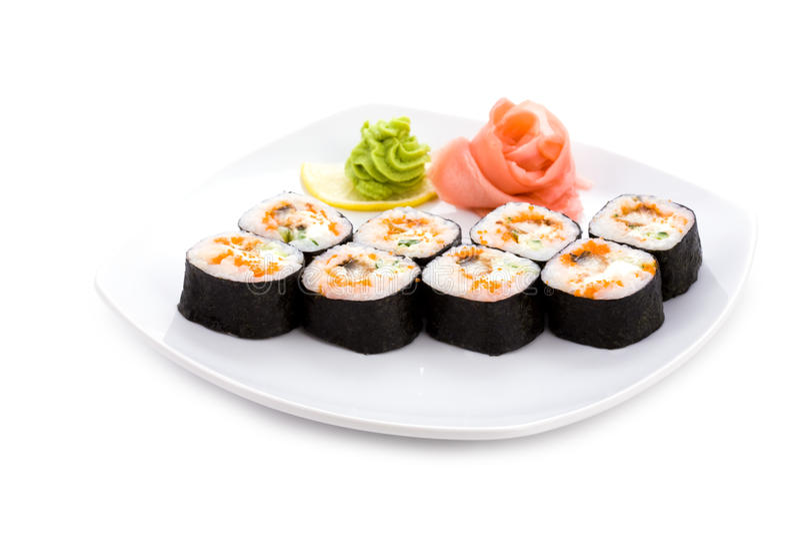 Download Dragon maki stock photo. Image of object, restaurant - 12819006