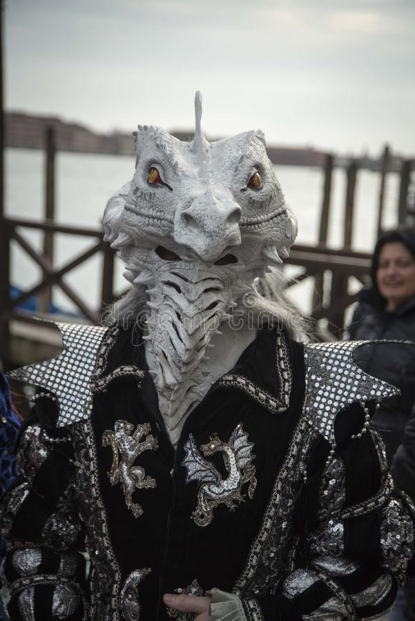 Dragon Mask royalty-vrije stock fotografie