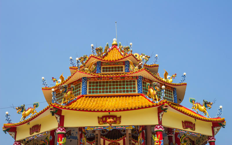 Dragon palace stock photography