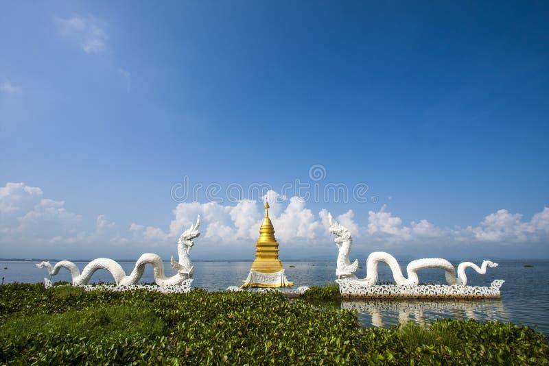 Download Dragon in Payao lake stock image. Image of mark, thailand - 29056183