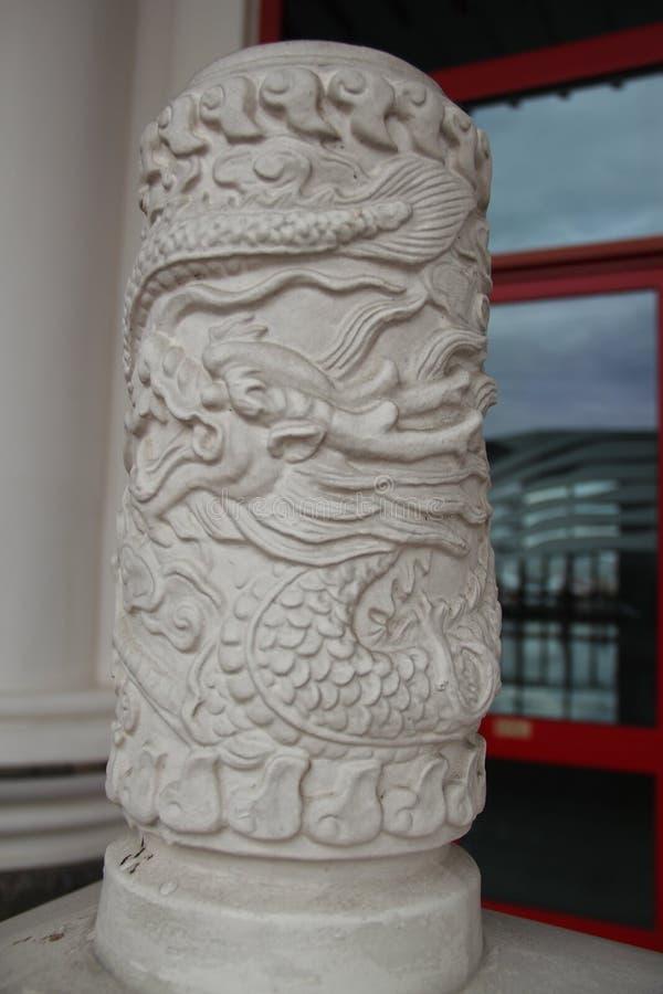 Dragon Pillar foto de stock royalty free