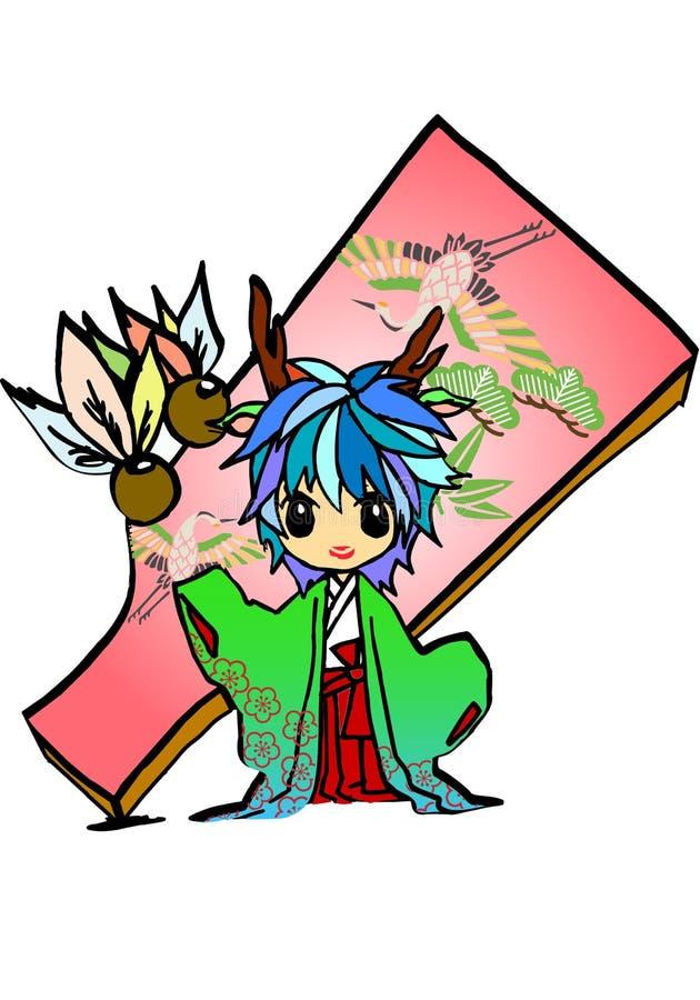 Download Dragon princess stock illustration. Illustration of angle - 22601995
