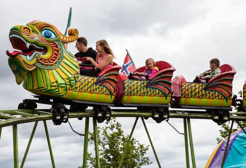 Dragon Riders royalty-vrije stock afbeeldingen