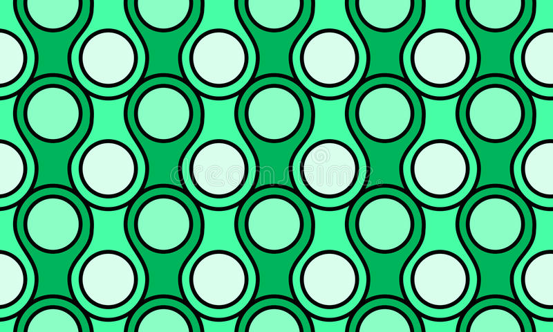 Dragon Scales Seamless Background Pattern illustration de vecteur