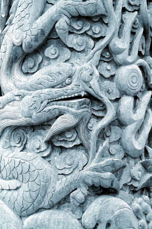 Download DRAGON SCULPTURE stock photo. Image of outdoor, horn - 12059874