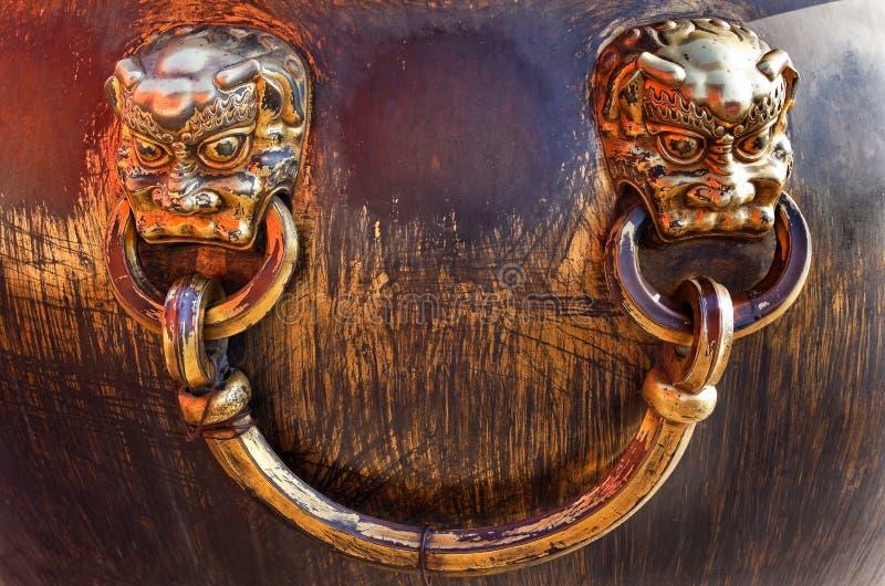 Download Dragon Shiny Bronze Pot Forbidden City Beijingi Stock Photo - Image: 12260210
