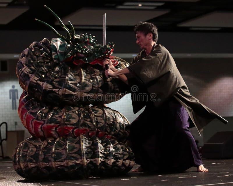 Dragon Slayer stock afbeelding