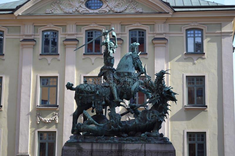 Dragon Slayer Stockholm royalty-vrije stock afbeeldingen