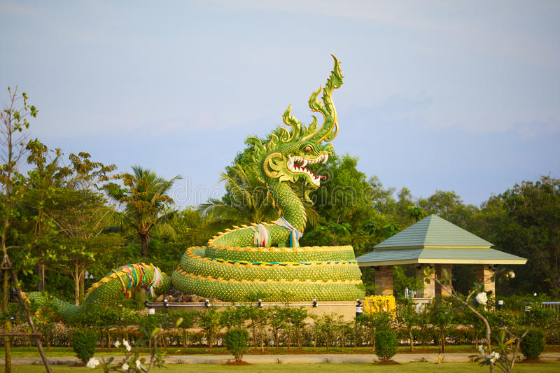 Download Dragon Statue stock photo. Image of buddha, chinese, clouds - 23795906