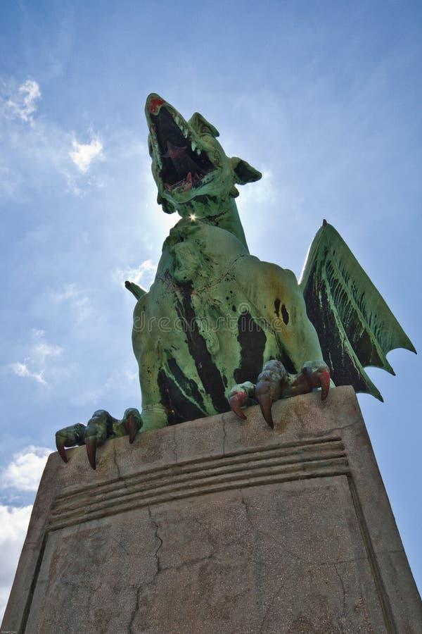 Dragon Statue stock fotografie