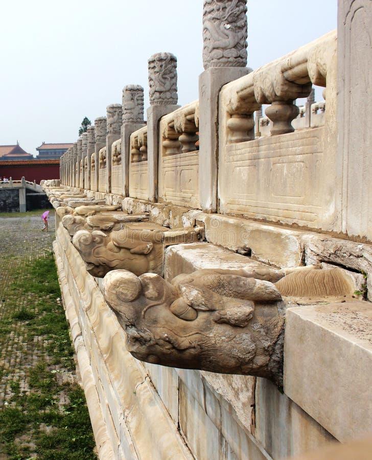 Dragon stone stock photography