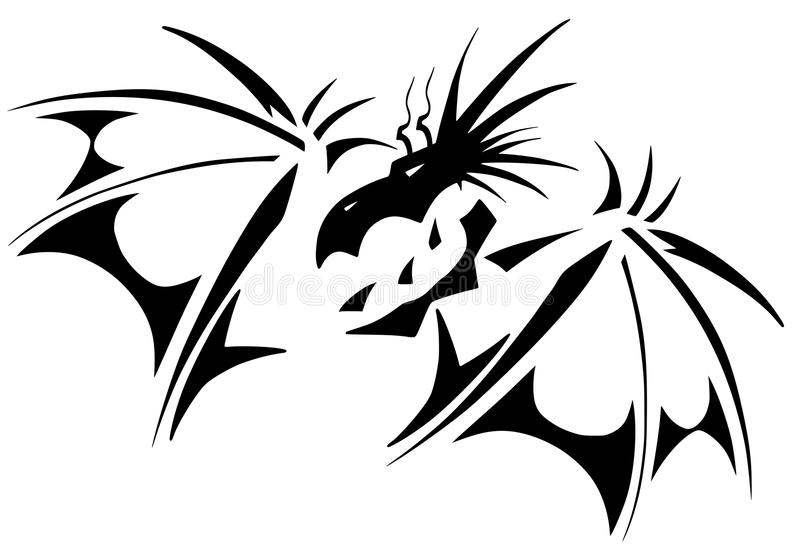 Download Dragon tattoo stock vector. Illustration of japanese - 23228368