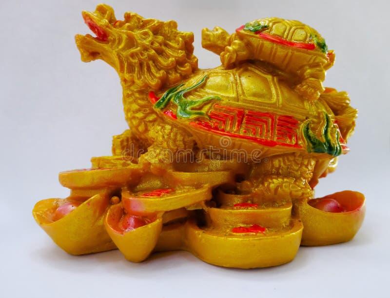 Dragon Tortoise royalty-vrije stock foto's