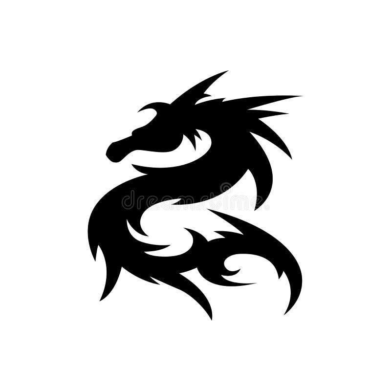 Dragon tattoo flash tribal Tribal tattoo