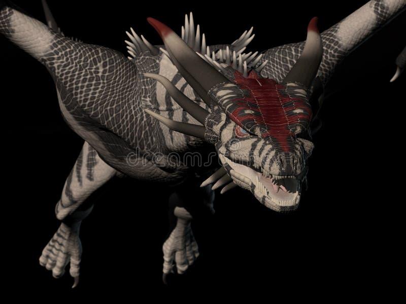 Download Dragon Up Close stock illustration. Image of fantasy - 21958325