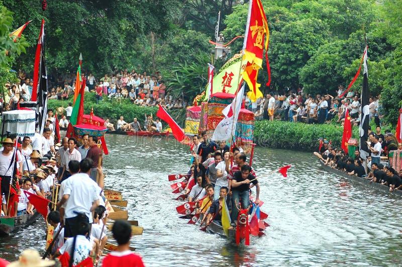 dragonboat tradycyjne zdjęcia royalty free