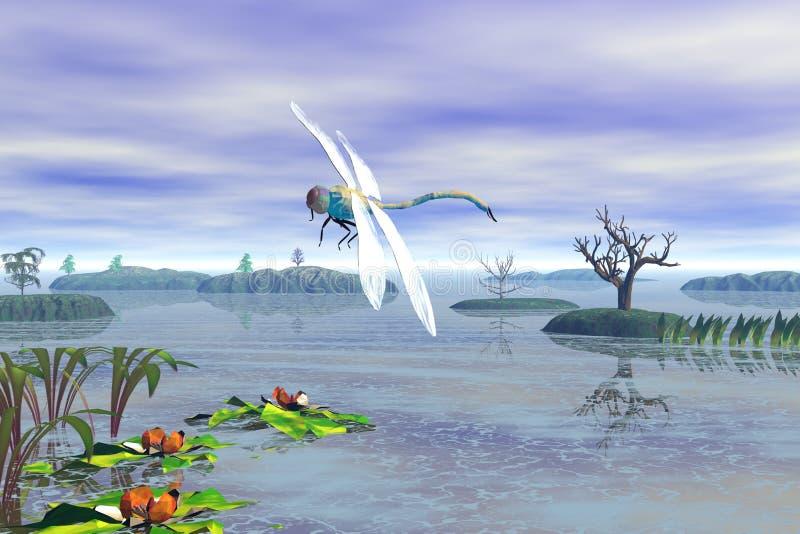 dragonfly иллюстрация вектора