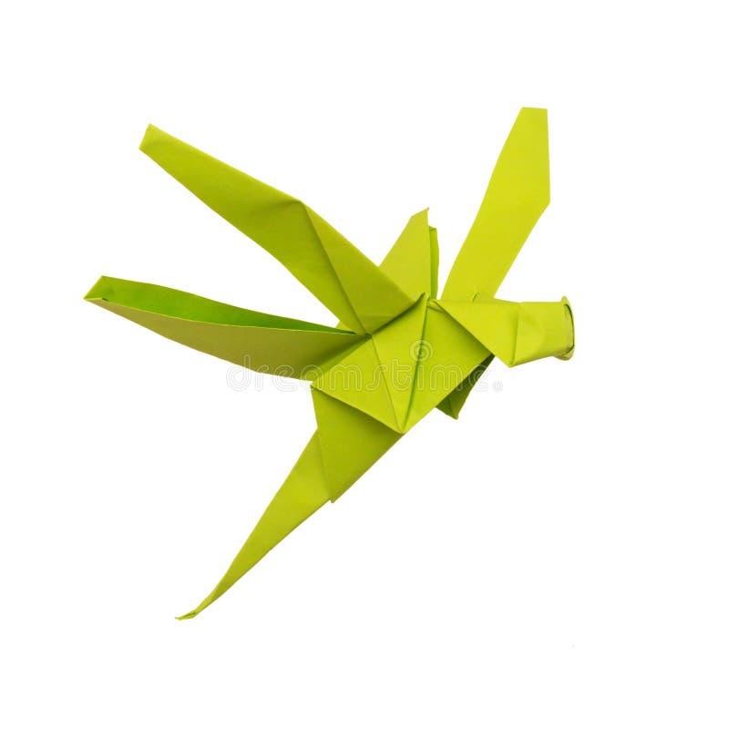 Dragonfly Origami стоковые изображения rf
