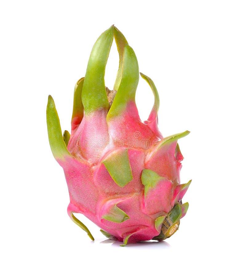 Dragonfruit  на белой предпосылке стоковое фото