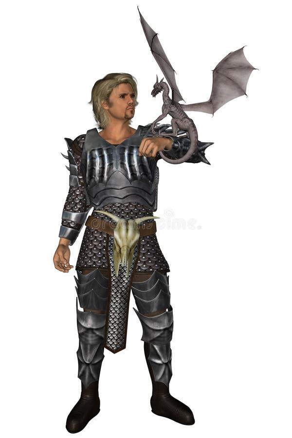 Dragonmaster royalty-vrije illustratie
