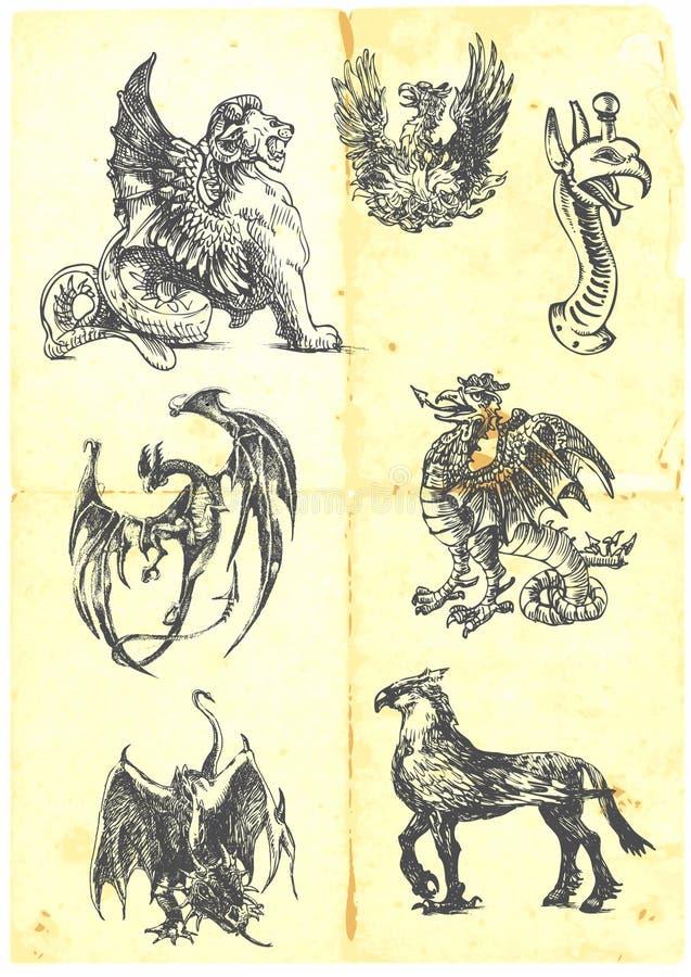 Dragons Royalty Free Stock Image